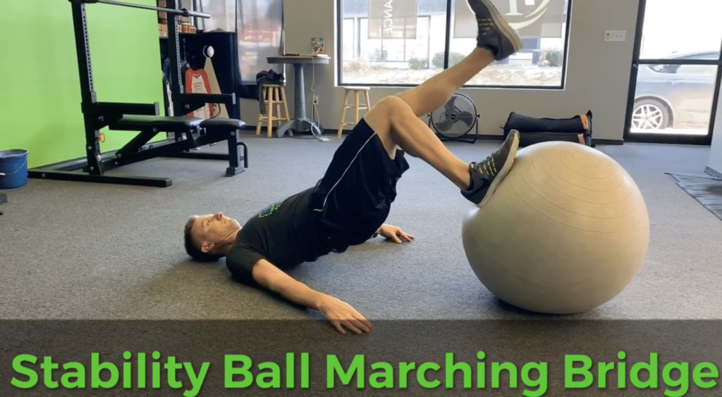 Stability Ball Marching